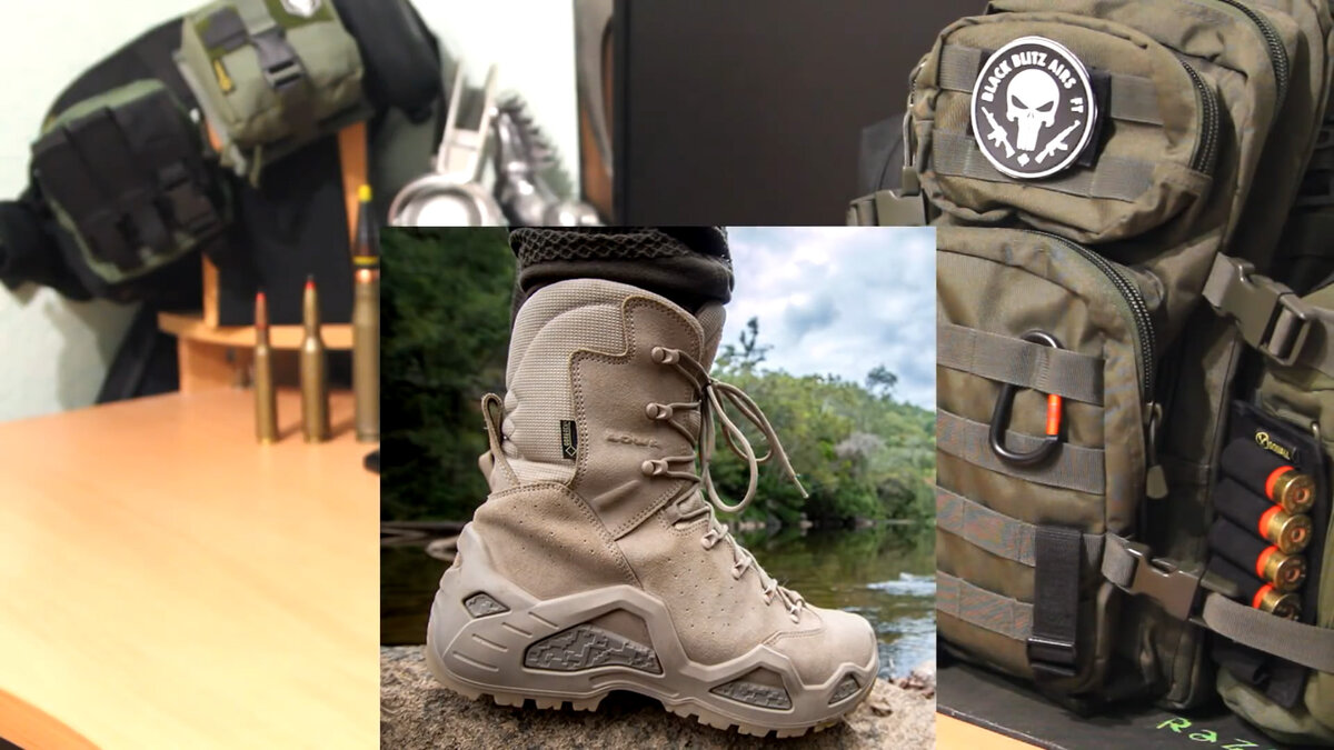 Lowa Trekking Tactical Shoes
