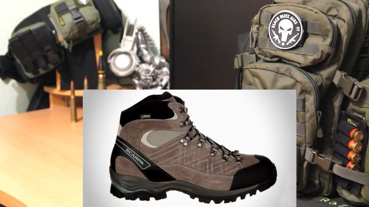 Tactical Scarpa Shoes